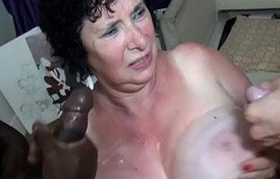 Oma Gruppensex Porno