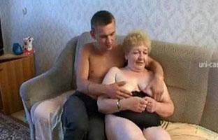 Russischer Omi Porno