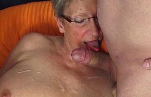 Neuer deutscher Oma Threesomeporno